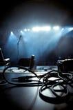 konsertutrustningrock Arkivfoto