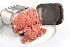 konserverad engelsk stil för nötkött Royaltyfri Fotografi
