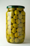 Konservierte Oliven Lizenzfreie Stockbilder