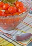 Konservierte Tomaten Stockfotografie