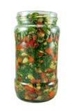 Konserviertes Gemüse Lizenzfreies Stockfoto