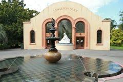 Konserwatorium w Fitzroy ogródach, Melbourne Obrazy Stock