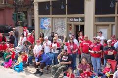 Konserwatywna parada Tłoczy się Cincinnati Zdjęcie Royalty Free