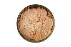 Konserwować tuńczyka rybi stek Zdjęcie Royalty Free