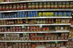 Konserwować meksykanin pieprzy foods Fotografia Royalty Free