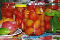konserwować warzywa Zdjęcie Royalty Free
