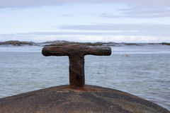 Konsol på klippan Royaltyfri Fotografi