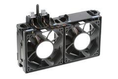 konsol som svalnar dubbelventilatoren Fotografering för Bildbyråer