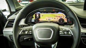Konsole der elektronischen Navigation Stockbild
