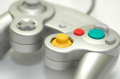 Konsolen-Spiel-Controller Lizenzfreies Stockfoto