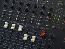 konsoli audio mieszanka Obrazy Royalty Free