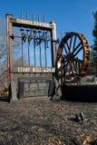 konsolidujący dahlonega Georgia młynu znaczek Fotografia Stock