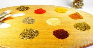 Konst av matlagning Arkivbild