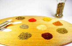 Konst av matlagning Arkivfoto