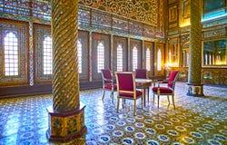 Konst av Persien, Golestan, Teheran Arkivbild