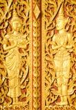 Konst av thailändska Lanna på det Pattani landskapet Royaltyfria Bilder
