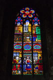 Konst av vitrail Royaltyfria Bilder
