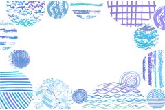Konst background3 royaltyfri illustrationer