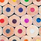 Konst bearbetar - färga ritar på vitbakgrund arkivfoton