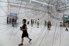 konst biennale di exibithion venezia 2009 venice Royaltyfri Bild