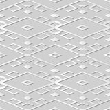 konst Diamond Check Cross Tracery Frame för vitbok 3D Royaltyfria Foton