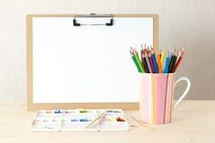 Konst för arbetsställen Fotografering för Bildbyråer