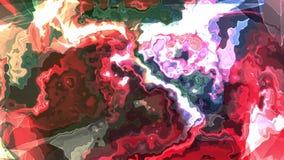 Konst för bakgrund för animering för turbulent energineon för REGNBÅGE för Digital för målarfärg flyttning för moln mjuk stilfull royaltyfri illustrationer