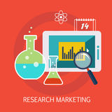 Konst för forskningmarknadsföringsbegrepp Royaltyfri Fotografi