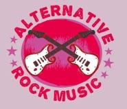 Konst för handgitarrvektor Royaltyfria Bilder
