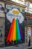 Konst för London grafittigata Royaltyfria Bilder