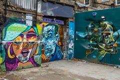 Konst för London grafittigata Royaltyfri Bild