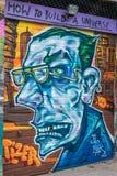 Konst för London grafittigata Fotografering för Bildbyråer