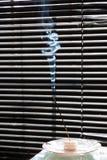 Konst för rökelsepinnerök Royaltyfria Foton
