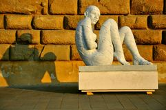 konst florence stads- italy Arkivfoton