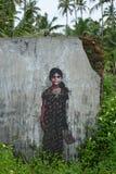 Konst i den indiska djungeln Arkivbild