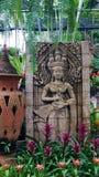 Konst i den Noongnuch trädgården Royaltyfria Foton