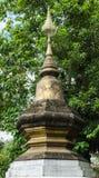 Konst i det Xieng Thongtempelet, forntida tempel, Laos. Arkivbilder