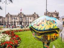 Konst i Lima Arkivbild