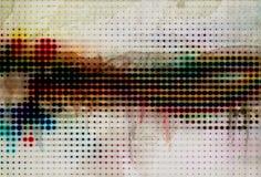 Konst målad abstrakt bakgrund Arkivfoto