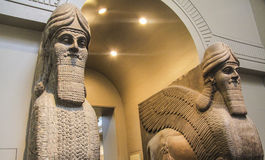konst mesopotamian royaltyfria bilder
