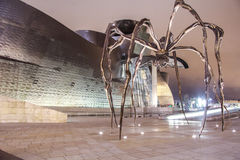 Konst på det Guggenheim museet - Bilbao Arkivfoton