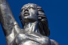Konst skulptur, kvinna Arkivbild