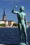 konst stockholm Arkivbild