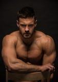 Konstantin Kamynin modelo masculino musculoso Imagen de archivo