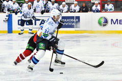 Konstantin Rudenko prepare to strike on goal Stock Image