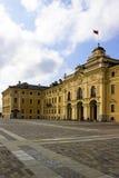 Konstantinovsky宫殿公园 库存照片