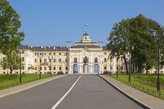 Konstantinovsky宫殿在Strelna,圣彼得堡,俄罗斯 库存照片