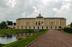 konstantinovsky宫殿 库存照片