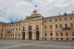 konstantinovsky宫殿 图库摄影