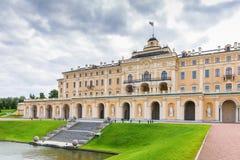 Konstantinovsky pałac w Strelna, St Petersburg, Rosja fotografia royalty free